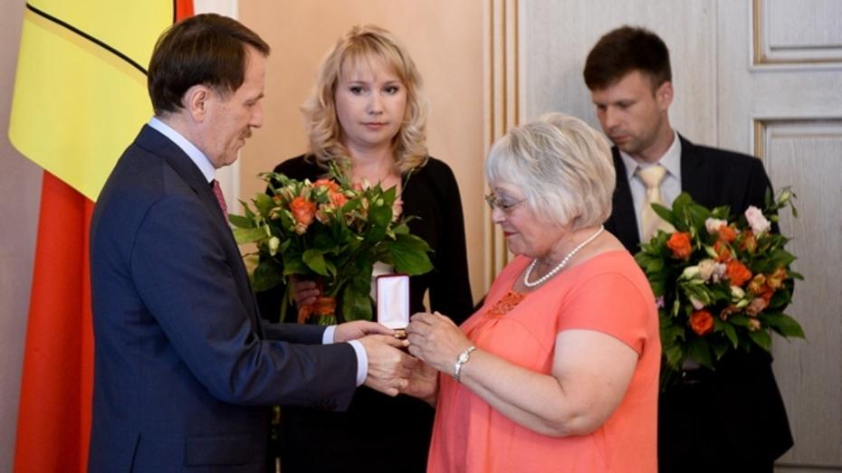 Воронежские медики получили областные и федеральные награды