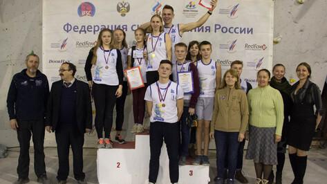 Воронежские юниоры завоевали 12 медалей на чемпионате ЦФО по скалолазанию