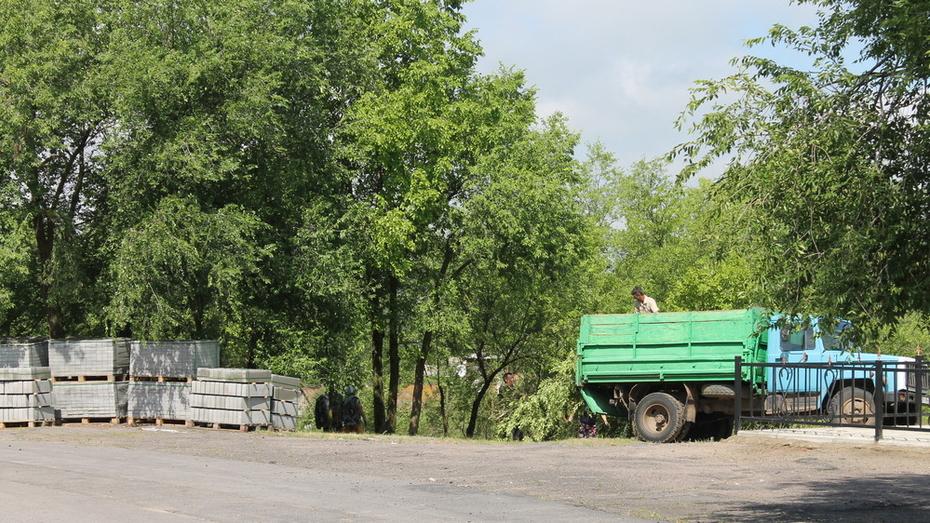 В петропавловском селе Глубокое около Дома культуры появится летняя сцена
