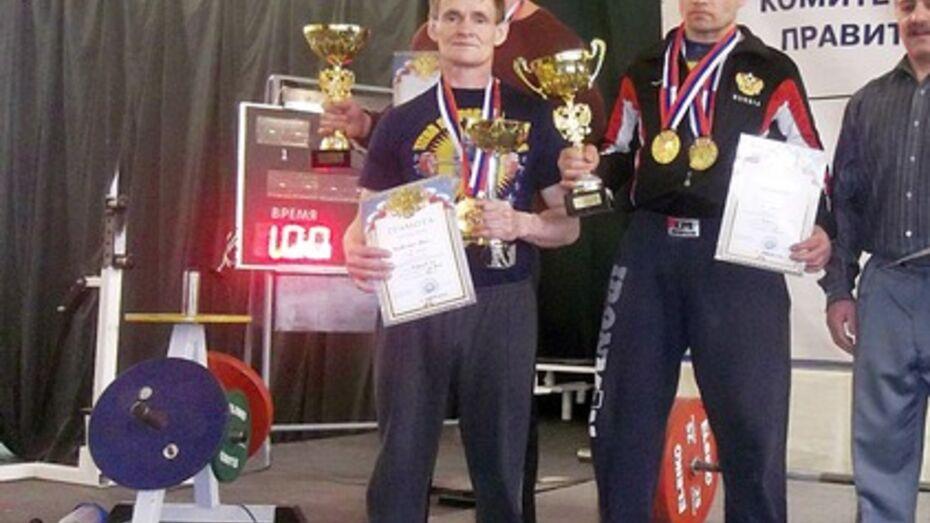 Верхнемамонский спортсмен вошел в состав сборной Московской области по пауэрлифтингу