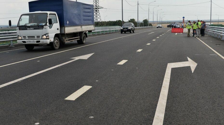 В Воронеже реконструируют автодорогу через М4 «Дон»  в Железнодорожном районе