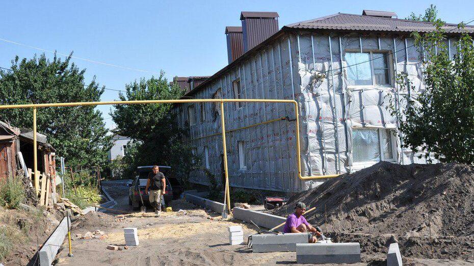 В Павловске впервые благоустроят 4 дворовые территории