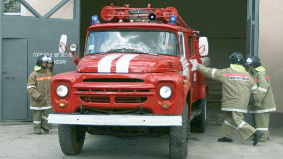 Ольховатские пожарные самые быстрые в области