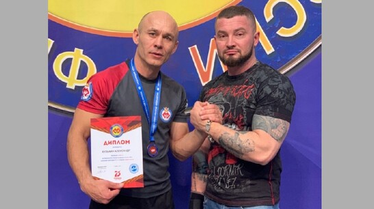 Калачеевский спортсмен завоевал «бронзу» чемпионата России по армрестлингу