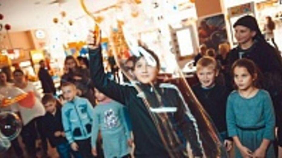 Сотни воронежских детей приняли участие в акции «Новогодние каникулы»