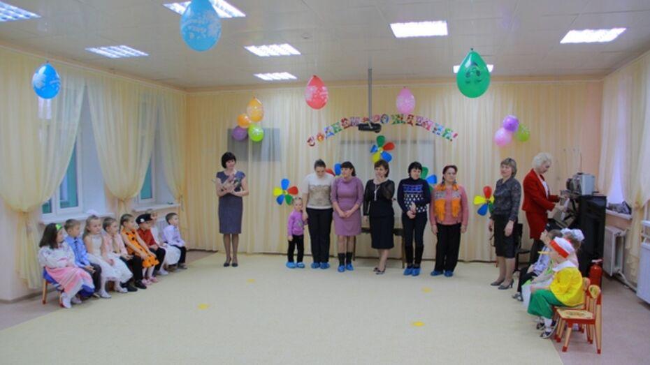 В Семилуках открылся новый корпус детского сада
