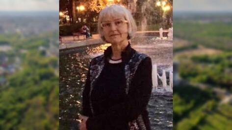 В Воронеже пропала пожилая женщина со стрижкой каре