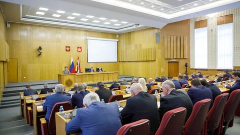 Доходы бюджета Воронежской области увеличились почти на 2 млрд рублей в 2019 году
