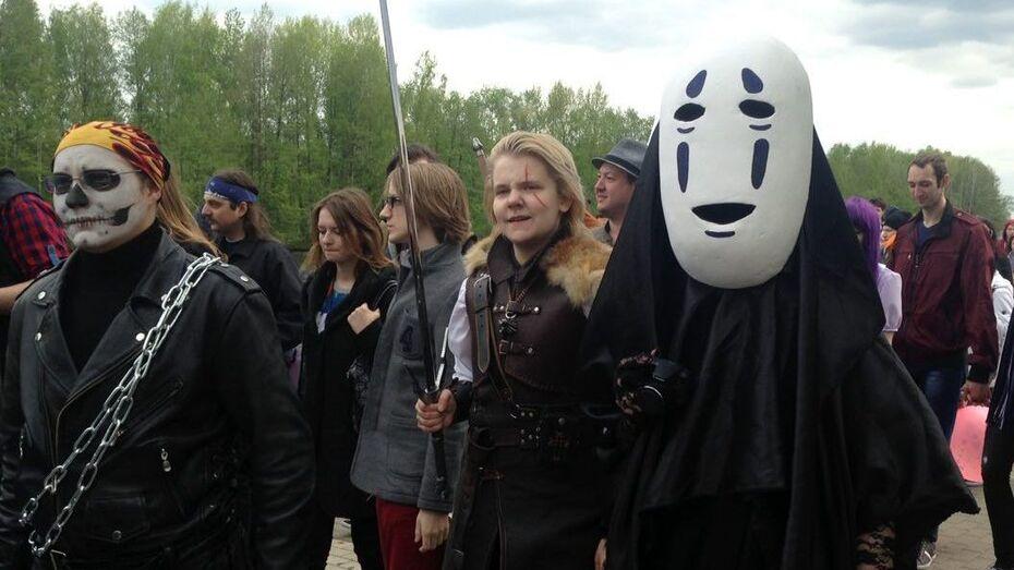 В Воронеже начался парад аниме