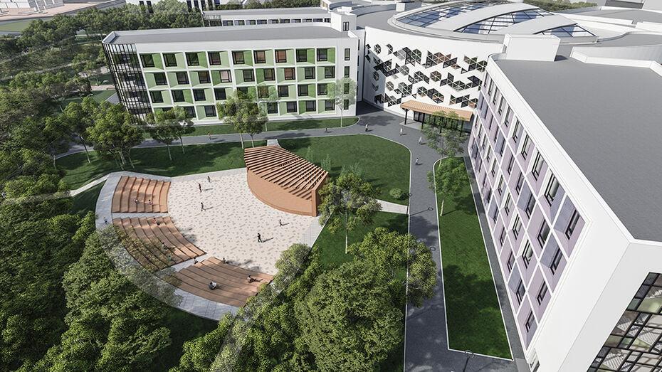 В Воронеже нашли подрядчика для строительства мегашколы за 3,5 млрд рублей