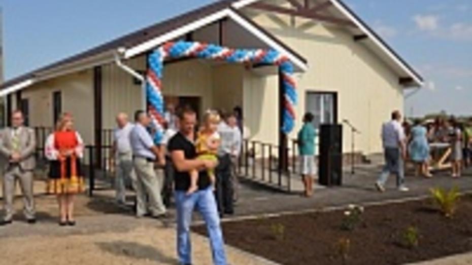 В Богучарском районе открылся первый современный ФАП