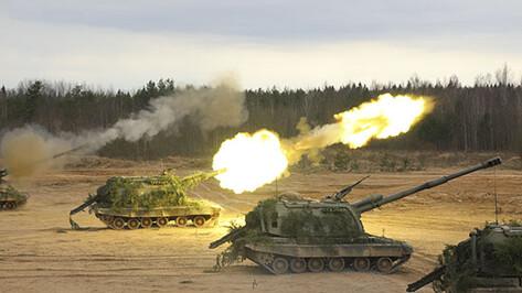 Воронежские военные закрутили «артиллерийскую карусель»