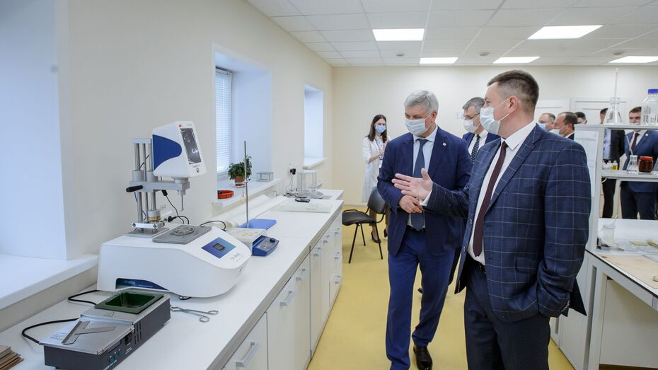 В особой экономической зоне под Воронежем открылся завод композитных материалов