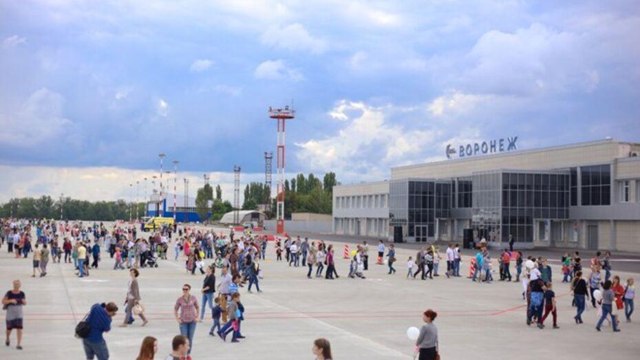 Воронежских пассажиров попросили 26 августа приезжать в аэропорт заранее