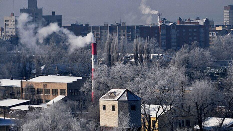 В Воронеже во время аномальных холодов произошло 26 технологических аварий