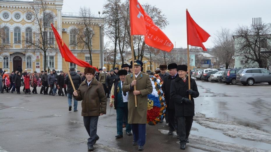 Богучарцы отметили 72 годовщину освобождения города от немецких захватчиков