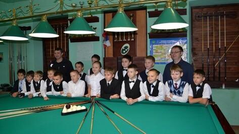 В Бутурлиновке прошел бильярдный турнир «Золотая осень»