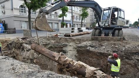 В центре Воронежа до августа перекроют участок улицы