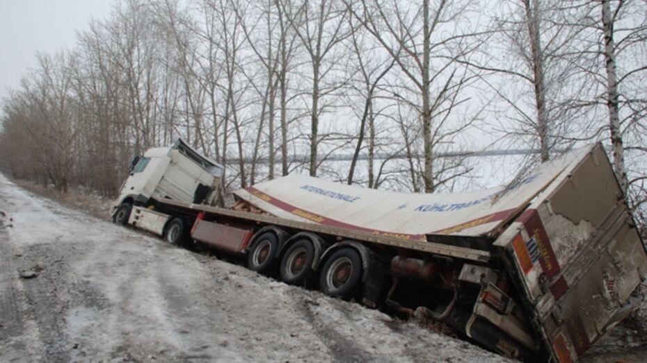 В Кантемировском и Богучарском районах дома, дороги и машины покрылись ледяной коркой