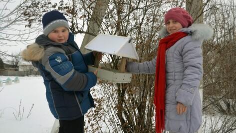 В Бутурлиновском районе стартовала акция «Покорми птиц зимой»
