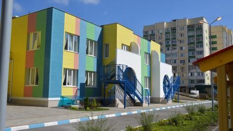 Детский сад на улице Ломоносова в Воронеже откроется 1 сентября