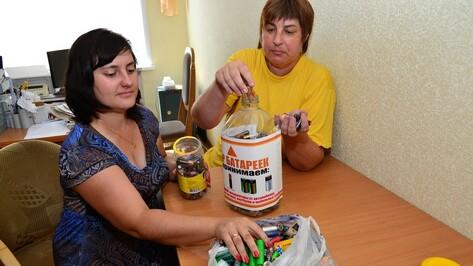 Грибановские журналисты собрали 15 кг отработанных батареек
