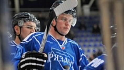 В воронежский «Буран» перешел один из ключевых игроков ХК «Рязань»
