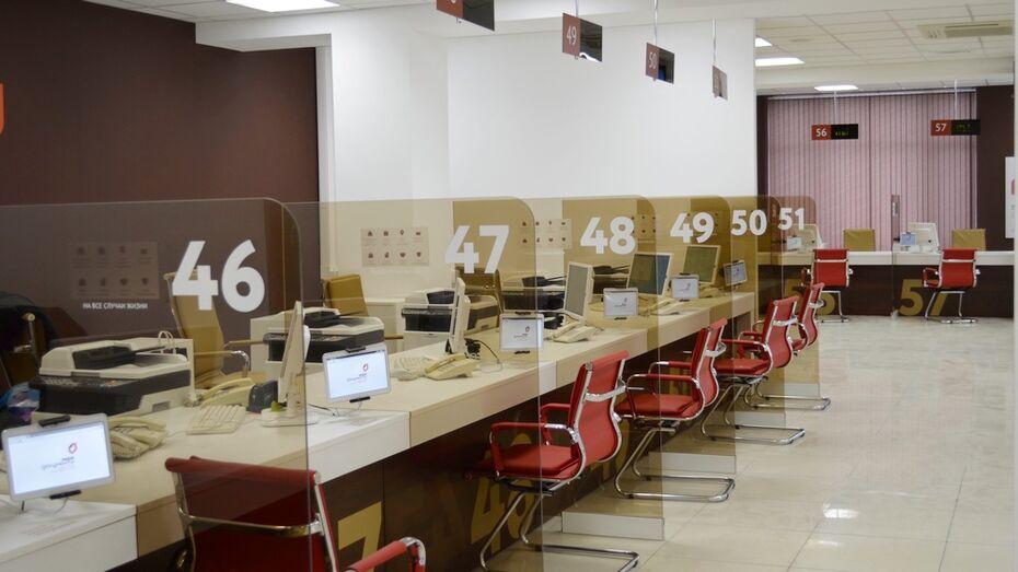 В Воронеже главный офис МФЦ заработает под брендом «Мои документы»