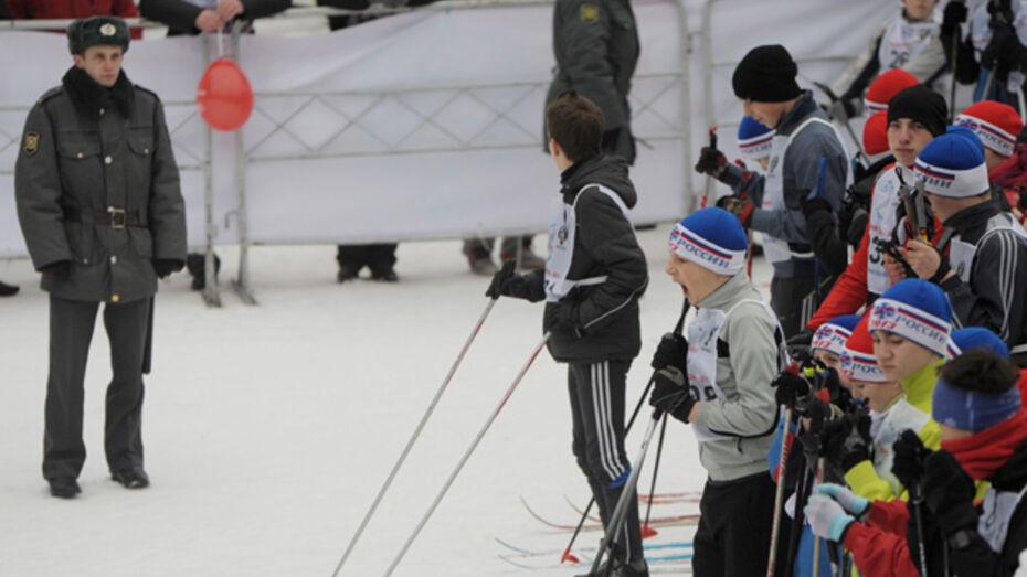 В Воронеже впервые из-за морозов перенесли «Лыжню России»
