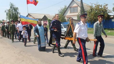 Через Петропавловский район прошел Ильинский крестный ход
