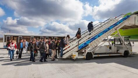 Реконструкция взлетной полосы воронежского аэропорта завершится в июле 2016 года