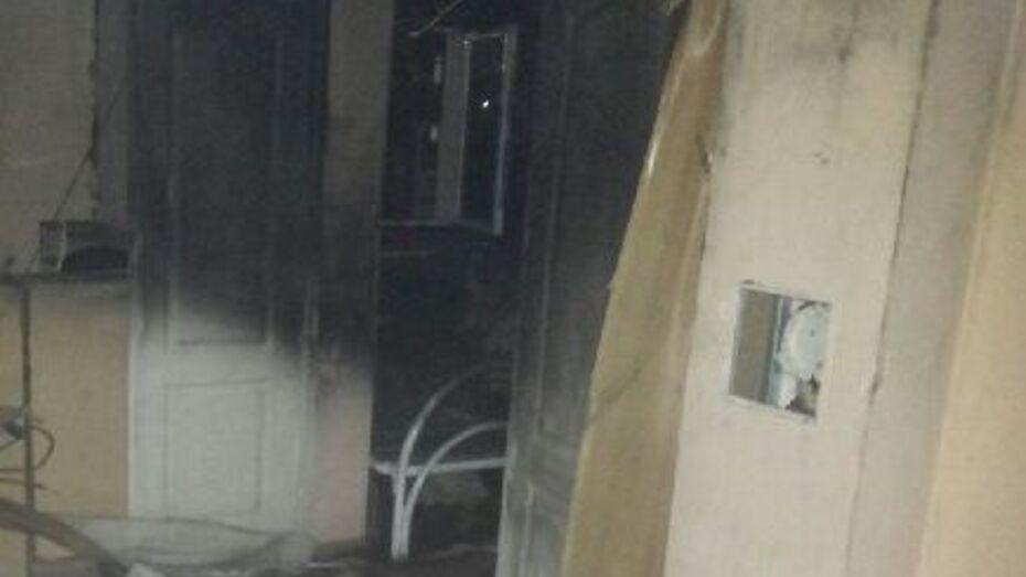 В Воронежской области при пожаре в Бобровской больнице погиб человек