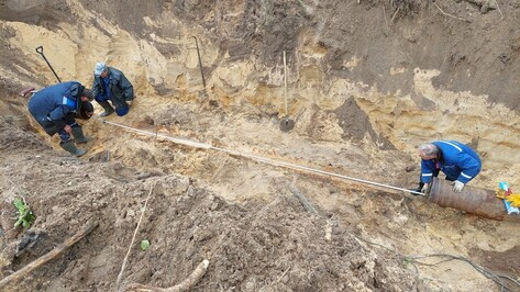 В воронежском Шилово устранили оставившую без воды почти 70 домов утечку