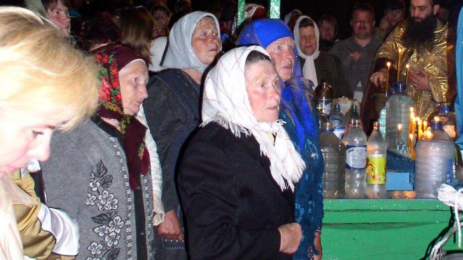 В хохольском селе пройдет ночной водосвятный молебен в честь Николая Чудотворца