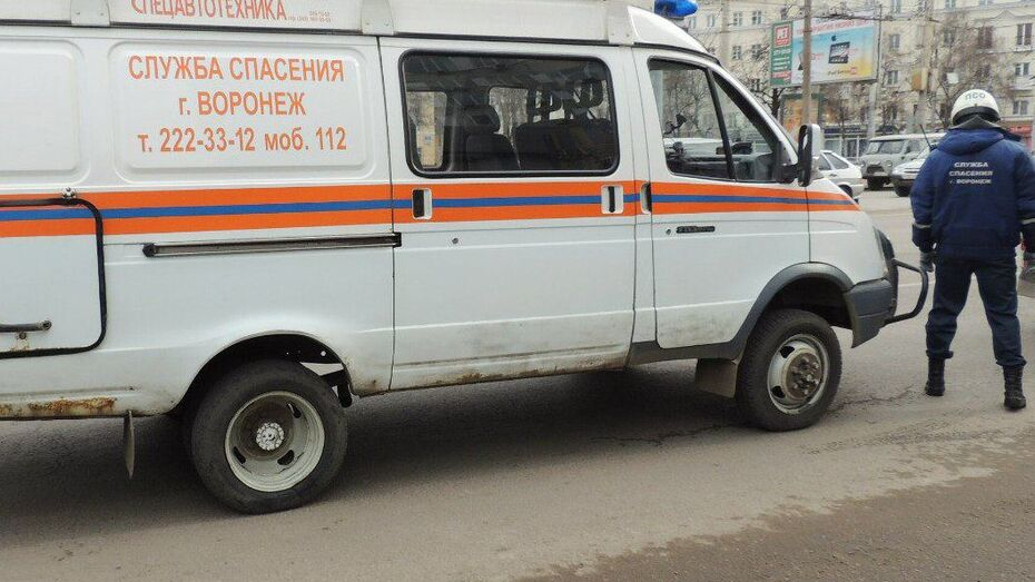 В Воронеже на улице Театральной мужчина прогулялся по карнизу 3 этажа