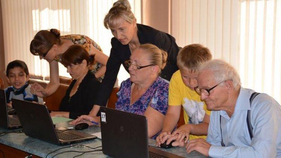 Воронежская область вошла в топ-5 по активности обучения пенсионеров работе в интернете
