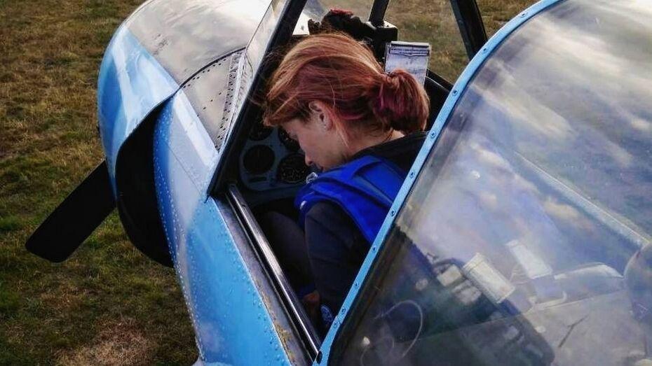 Верхнехавская планеристка победила на чемпионате по высшему пилотажу