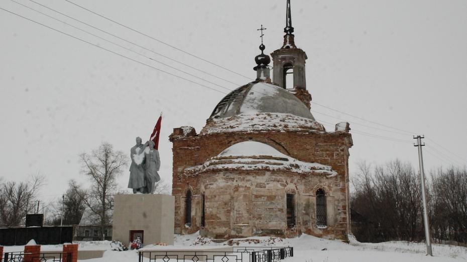 Жители кантемировского села приступили к восстановлению разрушенной церкви