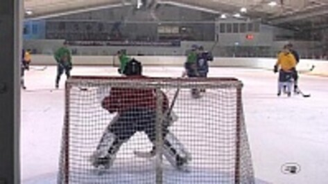 Нововоронежская хоккейная команда «Вымпел-атом» выиграла областной этап Ночной хоккейной лиги