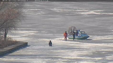 На Воронежском водохранилище рыбак дважды проигнорировал предупреждение спасателей
