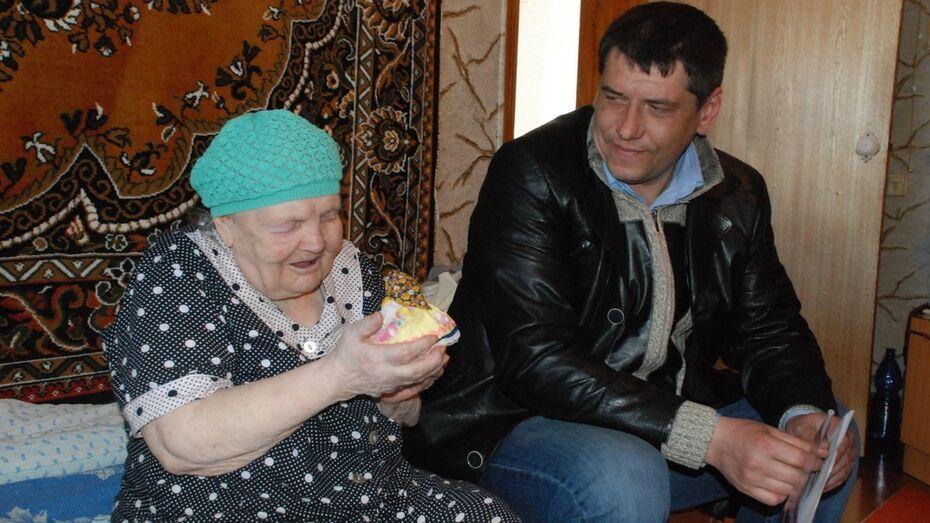 Жительницу Кантемировки с 90-летием поздравил Владимир Путин