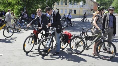 Воронеж вновь присоединится к акции «На работу на велосипеде»