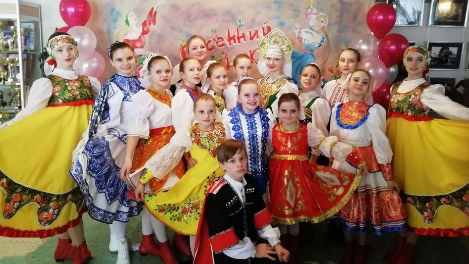 Аннинские танцоры получили 19 дипломов лауреата открытого конкурса Тамбовской области