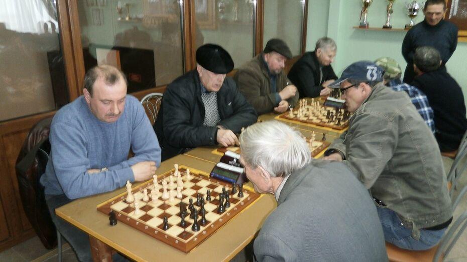 В Кантемировке прошло командное первенство по шахматам