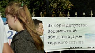 В Воронежскую облдуму почти прошли 4 партии