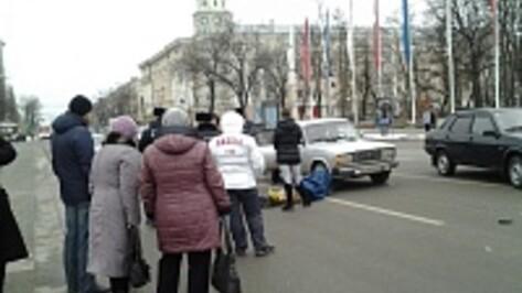 На площади Ленина в Воронеже «Жигули» сбили женщину рядом с «зеброй»