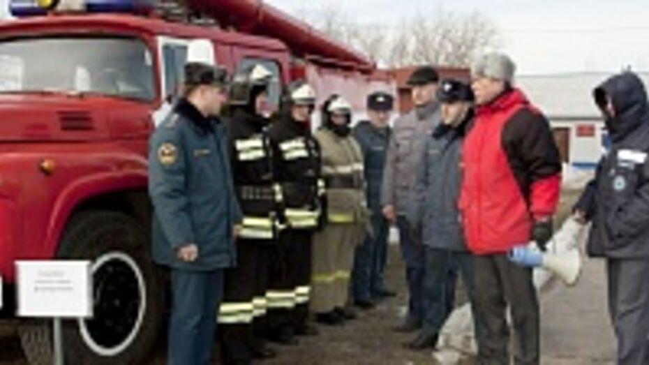 Спасатели проверили готовность Лискинского района к паводку