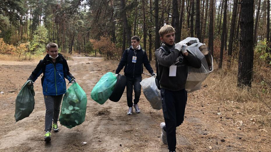Участники «Чистых игр» в Воронеже рассказали о самых необычных находках при сборе мусора
