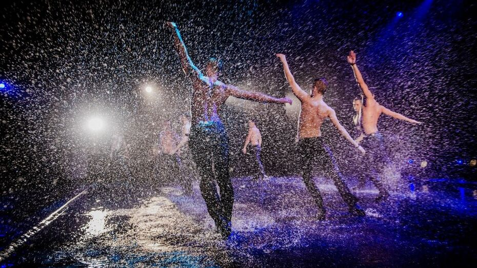 Воронежцы увидят танцевальное шоу под дождем
