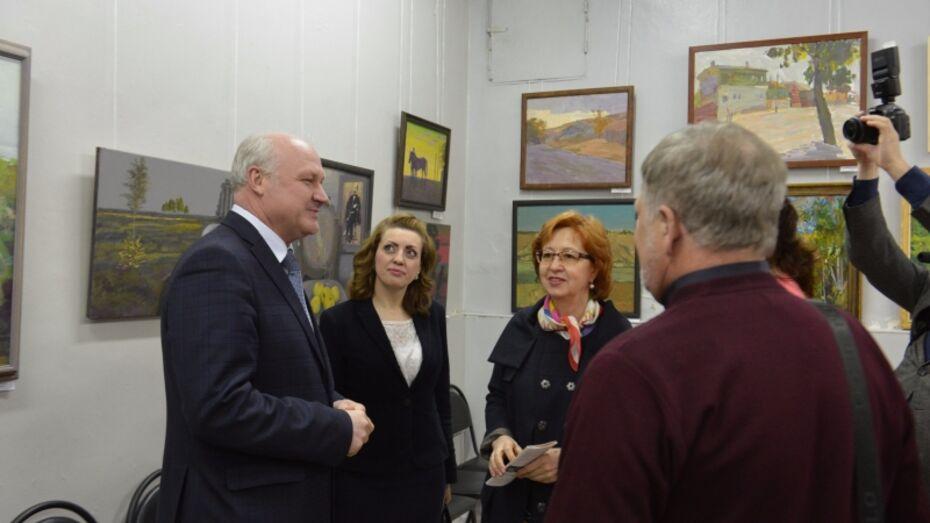 В Ельце открылась выставка живописи и графики «Читая Бунина»